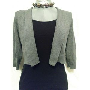 NWOT Cropped open front cardigan